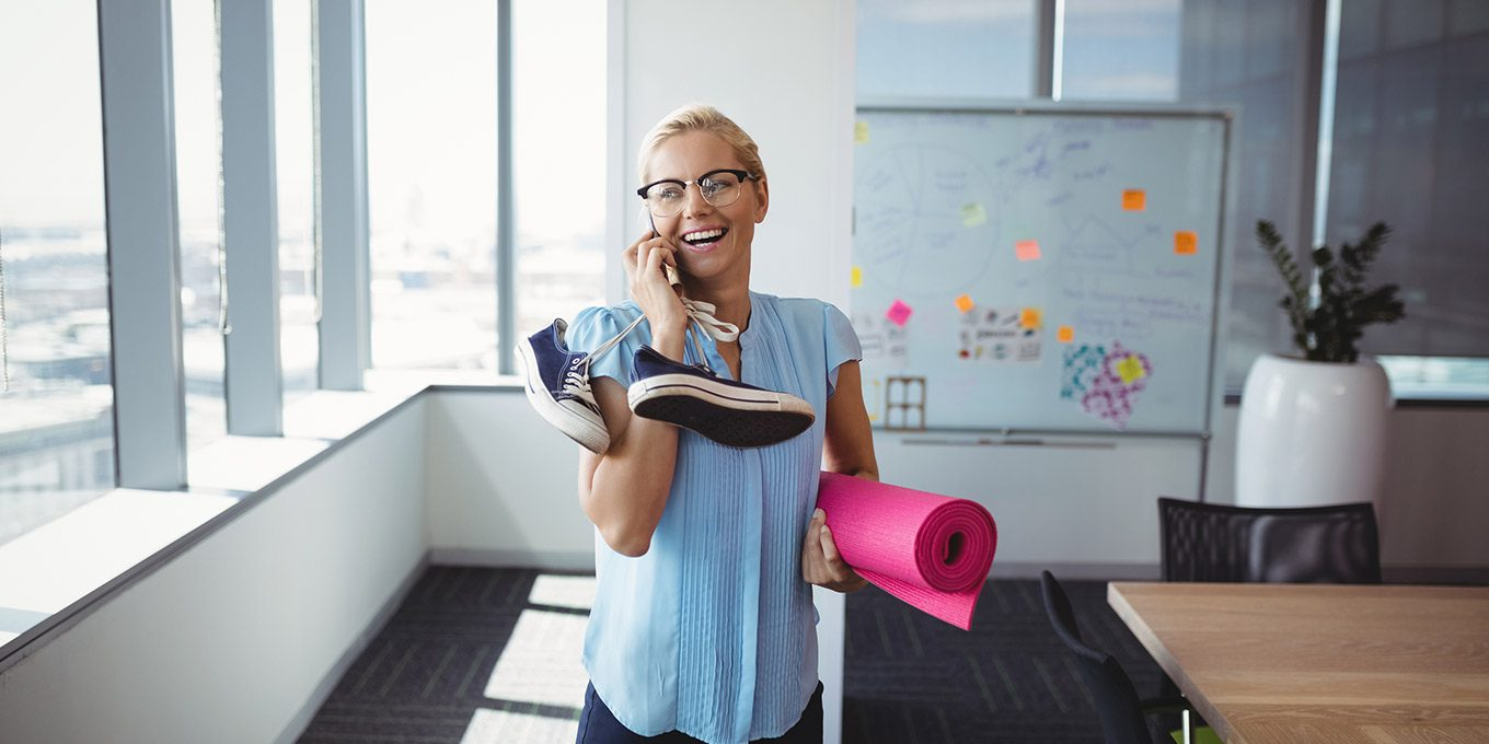 Smart Ways to Exercise at Work